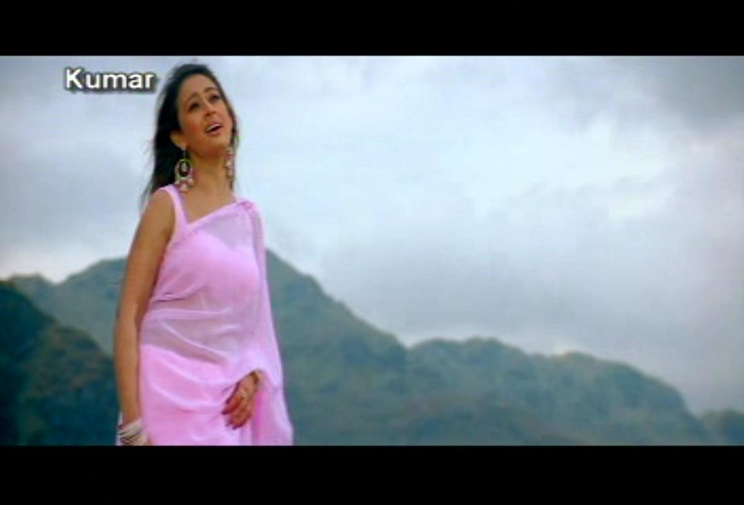 >preeti Jhangiani Looking So Ravishing In A Pink Saree